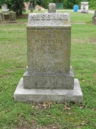 WILLIS, DR, F D - Jackson County, Arkansas | F D WILLIS, DR - Arkansas Gravestone Photos