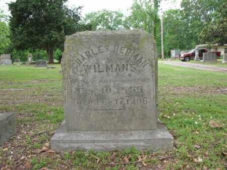 WILMANS, SR, CHARLES HERMAN - Jackson County, Arkansas | CHARLES HERMAN WILMANS, SR - Arkansas Gravestone Photos