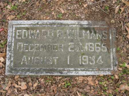 WILMANS, EDWARD B - Jackson County, Arkansas | EDWARD B WILMANS - Arkansas Gravestone Photos