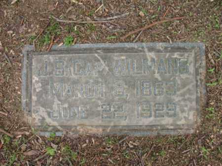 "WILMANS, J S  ""CAP"" - Jackson County, Arkansas   J S  ""CAP"" WILMANS - Arkansas Gravestone Photos"