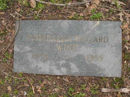 DILLARD WISE, ESMERALDA - Jackson County, Arkansas   ESMERALDA DILLARD WISE - Arkansas Gravestone Photos