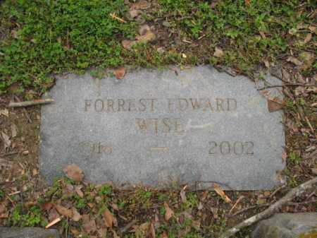 WISE, FORREST EDWARD - Jackson County, Arkansas | FORREST EDWARD WISE - Arkansas Gravestone Photos