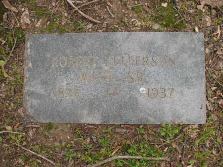 WISE, SR, ROBERT JEFFERSON - Jackson County, Arkansas   ROBERT JEFFERSON WISE, SR - Arkansas Gravestone Photos