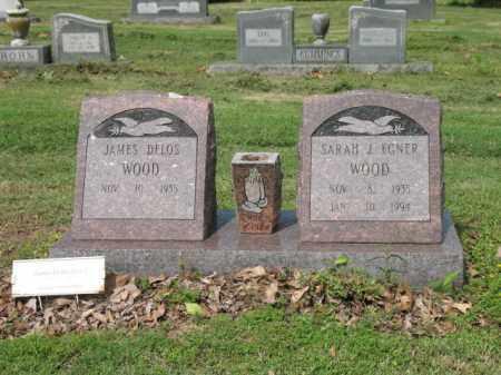 EGNER WOOD, SARAH J - Jackson County, Arkansas | SARAH J EGNER WOOD - Arkansas Gravestone Photos