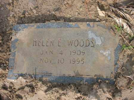 WOODS, HELEN E - Jackson County, Arkansas | HELEN E WOODS - Arkansas Gravestone Photos