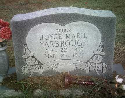 YARBROUGH, JOYCE MARIE - Jackson County, Arkansas   JOYCE MARIE YARBROUGH - Arkansas Gravestone Photos