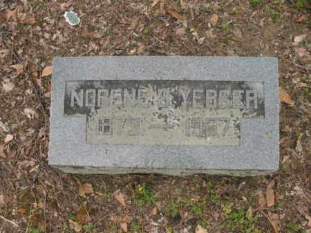 YERGER, NORENE J - Jackson County, Arkansas | NORENE J YERGER - Arkansas Gravestone Photos