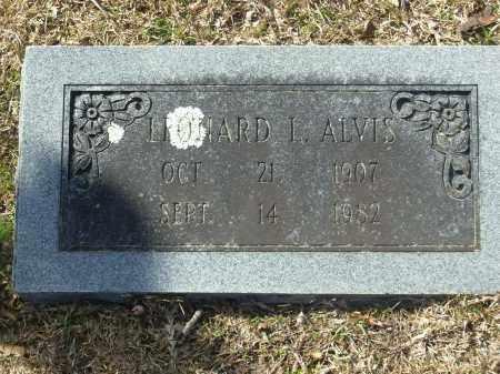 ALVIS, LEONARD L. - Jefferson County, Arkansas | LEONARD L. ALVIS - Arkansas Gravestone Photos