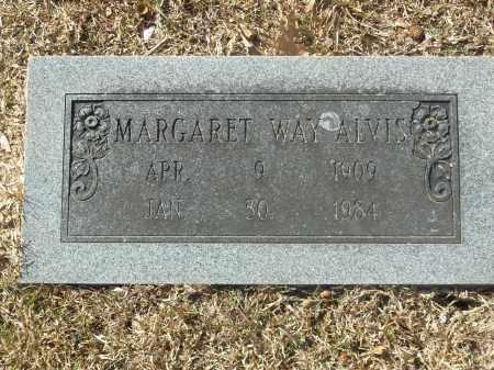 WAY ALVIS, MARGARET - Jefferson County, Arkansas | MARGARET WAY ALVIS - Arkansas Gravestone Photos