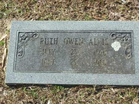 OWEN ALVIS, RUTH - Jefferson County, Arkansas | RUTH OWEN ALVIS - Arkansas Gravestone Photos