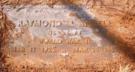 ANTELL (VETERAN WWII), RAYMOND R - Jefferson County, Arkansas | RAYMOND R ANTELL (VETERAN WWII) - Arkansas Gravestone Photos