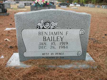 BAILEY, BENJAMIN F - Jefferson County, Arkansas   BENJAMIN F BAILEY - Arkansas Gravestone Photos