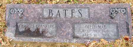 BATES, OLLIE MAE - Jefferson County, Arkansas | OLLIE MAE BATES - Arkansas Gravestone Photos