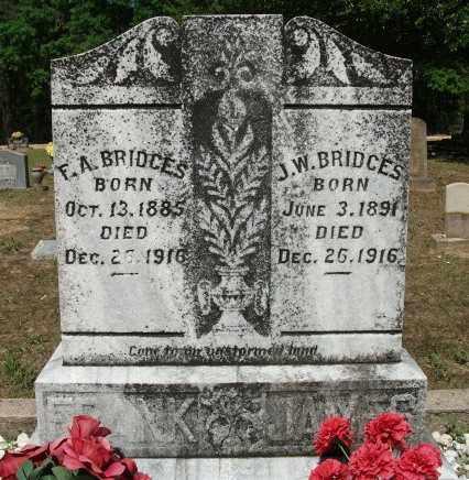 BRIDGES, JAMES W - Jefferson County, Arkansas | JAMES W BRIDGES - Arkansas Gravestone Photos