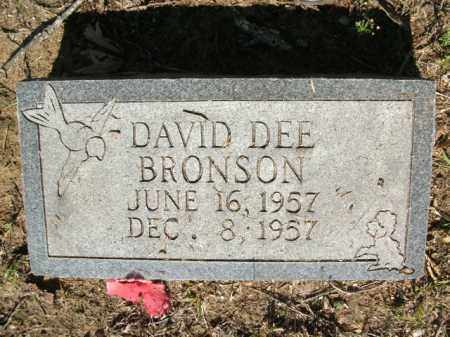 BRONSON, DAVID DEE - Jefferson County, Arkansas | DAVID DEE BRONSON - Arkansas Gravestone Photos
