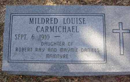 CARMICHAEL, MILDRED LOUISE - Jefferson County, Arkansas | MILDRED LOUISE CARMICHAEL - Arkansas Gravestone Photos