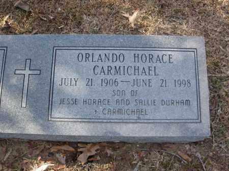 CARMICHAEL, ORLANDO HORACE - Jefferson County, Arkansas | ORLANDO HORACE CARMICHAEL - Arkansas Gravestone Photos