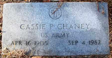 CHANEY (VETERAN), CASSIE P - Jefferson County, Arkansas   CASSIE P CHANEY (VETERAN) - Arkansas Gravestone Photos