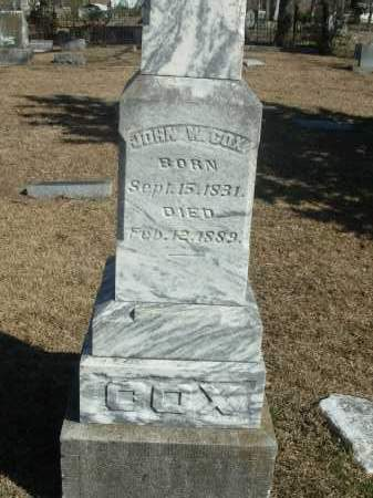 COX, JOHN W. - Jefferson County, Arkansas | JOHN W. COX - Arkansas Gravestone Photos