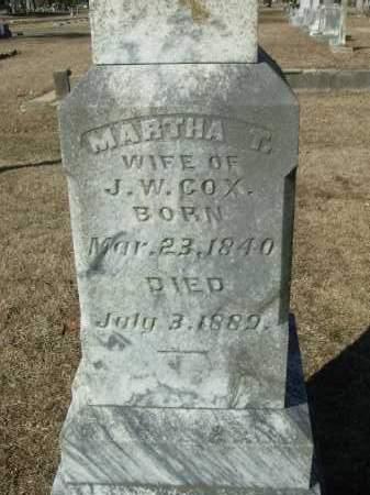 DARBY COX, MARTHA T. - Jefferson County, Arkansas   MARTHA T. DARBY COX - Arkansas Gravestone Photos