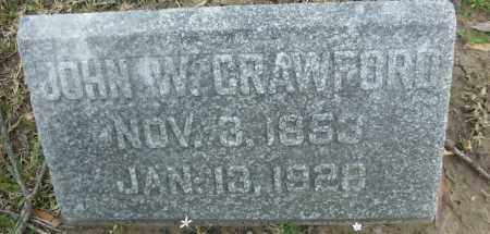 CRAWFORD, JOHN W. - Jefferson County, Arkansas | JOHN W. CRAWFORD - Arkansas Gravestone Photos