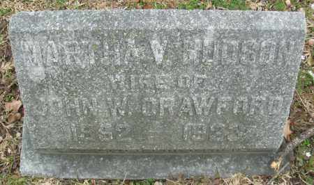 CRAWFORD, MARTHA V. - Jefferson County, Arkansas | MARTHA V. CRAWFORD - Arkansas Gravestone Photos