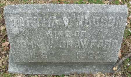 CRAWFORD, MARTHA V. - Jefferson County, Arkansas | MARTHA V. CRAWFORD - Arkansas Gravestone Photos