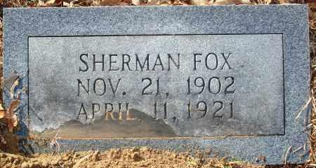FOX, SHERMAN - Jefferson County, Arkansas | SHERMAN FOX - Arkansas Gravestone Photos