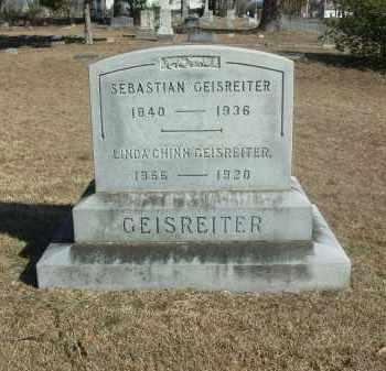 GEISREITER, SEBASTIAN - Jefferson County, Arkansas | SEBASTIAN GEISREITER - Arkansas Gravestone Photos