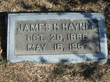 HAYNES, JAMES H. - Jefferson County, Arkansas | JAMES H. HAYNES - Arkansas Gravestone Photos
