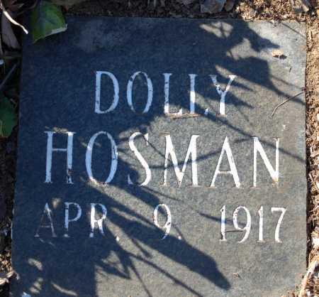 HOSMAN, DOLLY - Jefferson County, Arkansas | DOLLY HOSMAN - Arkansas Gravestone Photos