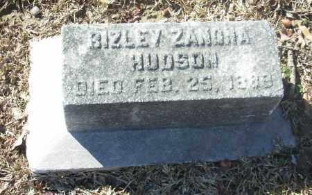 HUDSON, BIZLEY ZANOHA - Jefferson County, Arkansas   BIZLEY ZANOHA HUDSON - Arkansas Gravestone Photos