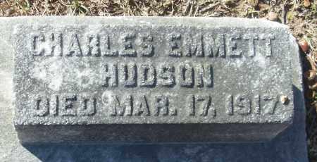 HUDSON, CHARLES EMMETT - Jefferson County, Arkansas | CHARLES EMMETT HUDSON - Arkansas Gravestone Photos