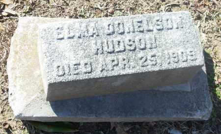 HUDSON, ELMA DONELSON - Jefferson County, Arkansas | ELMA DONELSON HUDSON - Arkansas Gravestone Photos