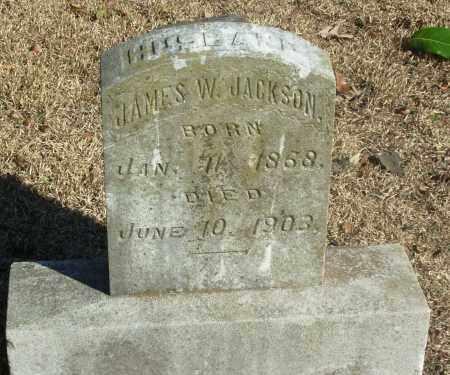 JACKSON, JAMES W - Jefferson County, Arkansas   JAMES W JACKSON - Arkansas Gravestone Photos