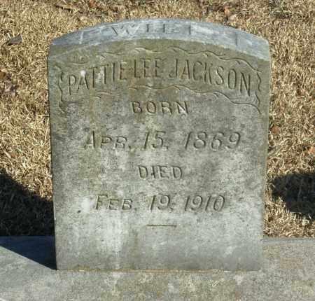 JACKSON, PATTIE LEE - Jefferson County, Arkansas | PATTIE LEE JACKSON - Arkansas Gravestone Photos