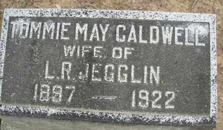 CALDWELL JEGGLIN, TOMMIE MAY - Jefferson County, Arkansas | TOMMIE MAY CALDWELL JEGGLIN - Arkansas Gravestone Photos