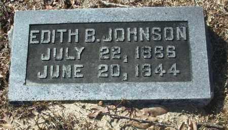 JOHNSON, EDITH B. - Jefferson County, Arkansas | EDITH B. JOHNSON - Arkansas Gravestone Photos