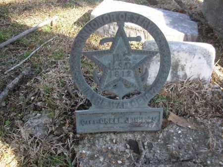 JOHNSON (VETERAN 1812), GREEF - Jefferson County, Arkansas | GREEF JOHNSON (VETERAN 1812) - Arkansas Gravestone Photos