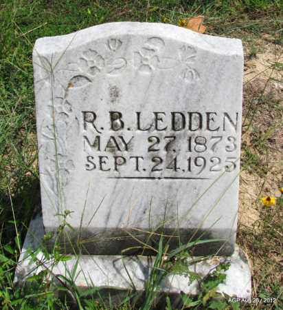 LEDDEN, R B - Jefferson County, Arkansas | R B LEDDEN - Arkansas Gravestone Photos