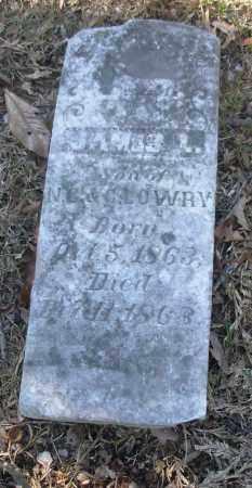 LOWRY, JAMES L. - Jefferson County, Arkansas   JAMES L. LOWRY - Arkansas Gravestone Photos
