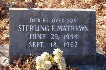 MATHEWS, STERLING - Jefferson County, Arkansas | STERLING MATHEWS - Arkansas Gravestone Photos