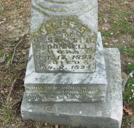 MCDONNELL, JAMES - Jefferson County, Arkansas | JAMES MCDONNELL - Arkansas Gravestone Photos