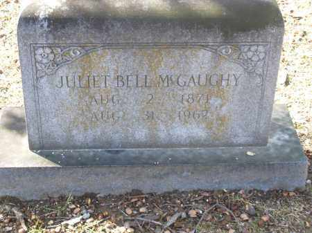 BELL MCGAUGHY, JULIET - Jefferson County, Arkansas | JULIET BELL MCGAUGHY - Arkansas Gravestone Photos