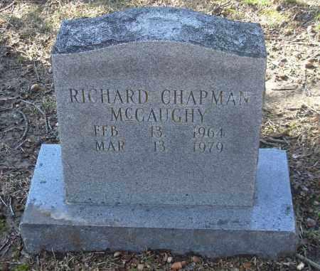 MCGAUGHY, RICHARD CHAPMAN - Jefferson County, Arkansas   RICHARD CHAPMAN MCGAUGHY - Arkansas Gravestone Photos