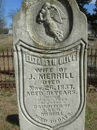 MERRILL, INFANT DAUGHTER - Jefferson County, Arkansas | INFANT DAUGHTER MERRILL - Arkansas Gravestone Photos