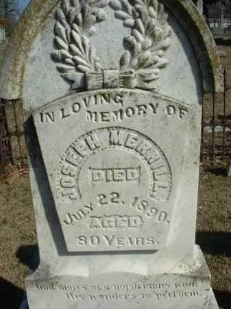 MERRILL, JOSEPH - Jefferson County, Arkansas | JOSEPH MERRILL - Arkansas Gravestone Photos