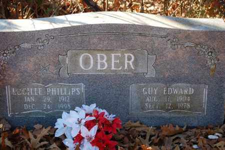 OBER, GUY EDWARD - Jefferson County, Arkansas | GUY EDWARD OBER - Arkansas Gravestone Photos