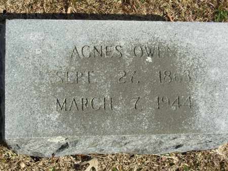 OWEN, AGNES - Jefferson County, Arkansas | AGNES OWEN - Arkansas Gravestone Photos