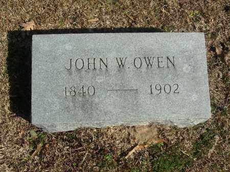 OWEN, JOHN W. - Jefferson County, Arkansas | JOHN W. OWEN - Arkansas Gravestone Photos